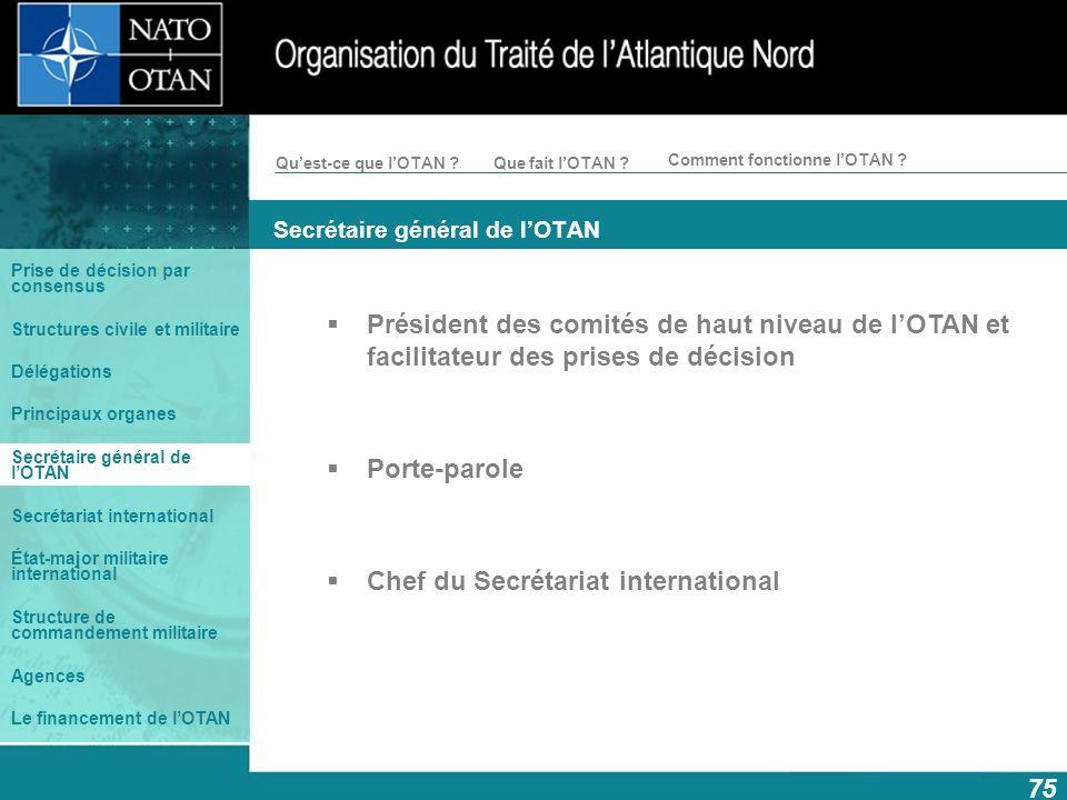 Secrétaire général de l'OTAN
