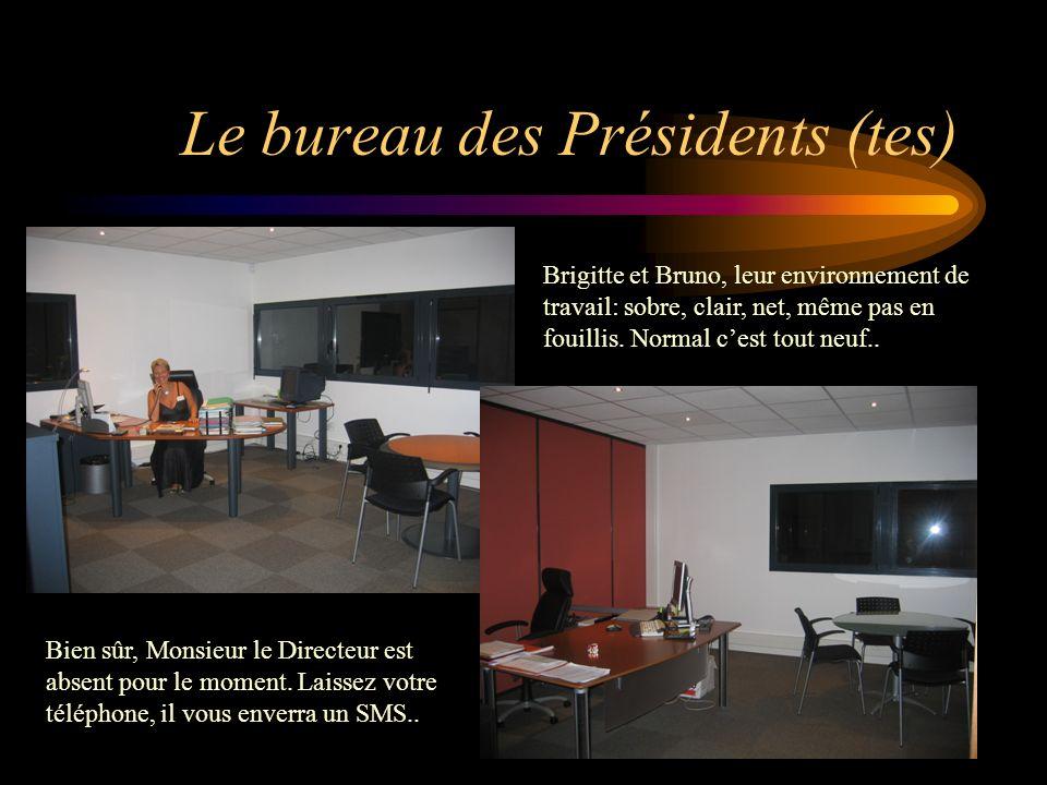 Le bureau des Présidents (tes)
