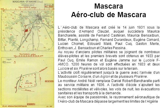 Mascara Aéro-club de Mascara
