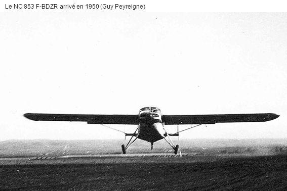 Le NC 853 F-BDZR arrivé en 1950 (Guy Peyreigne)