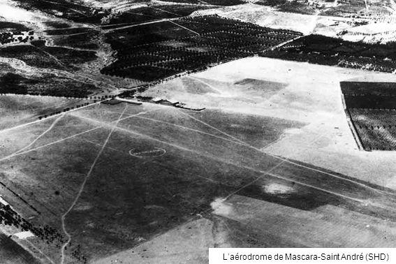 L'aérodrome de Mascara-Saint André (SHD)