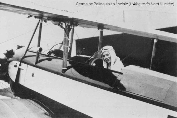 Germaine Pelloquin en Luciole (L'Afrique du Nord Illustrée)