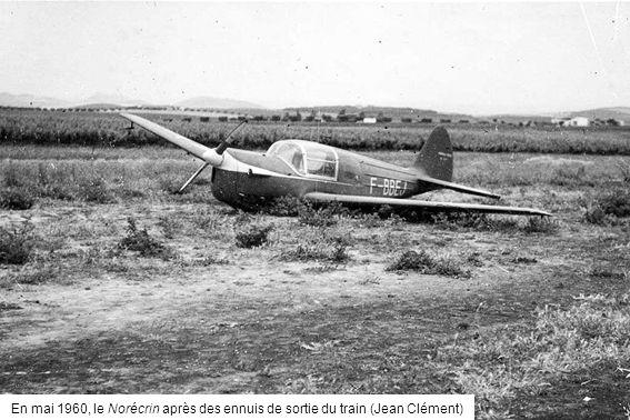 En mai 1960, le Norécrin après des ennuis de sortie du train (Jean Clément)