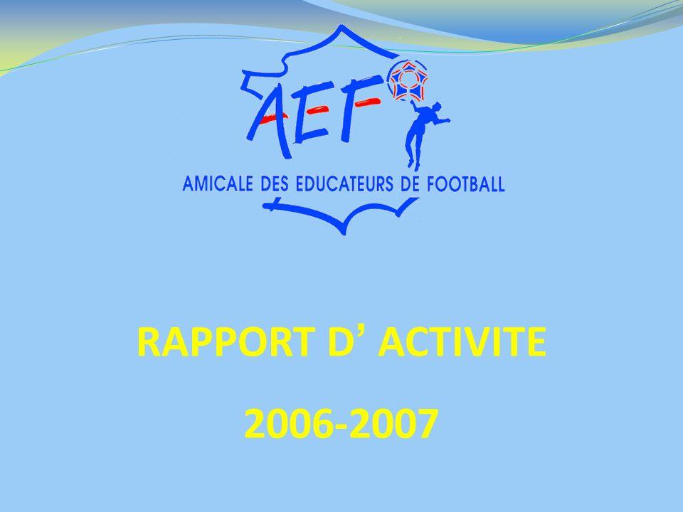 RAPPORT D' ACTIVITE 2006-2007