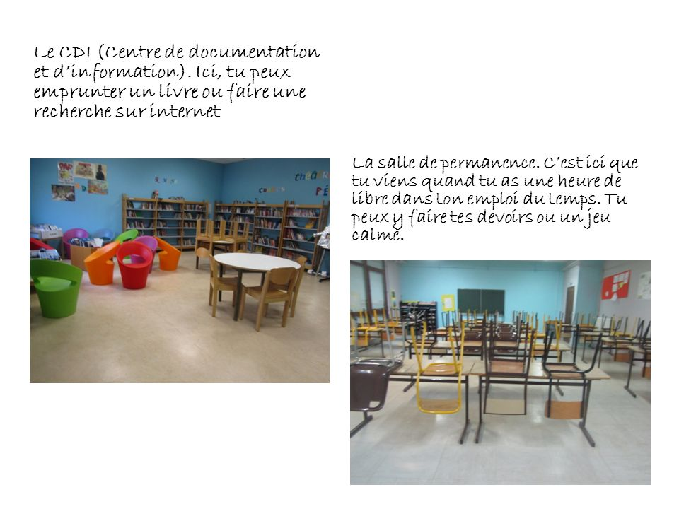 Le CDI (Centre de documentation et d'information)
