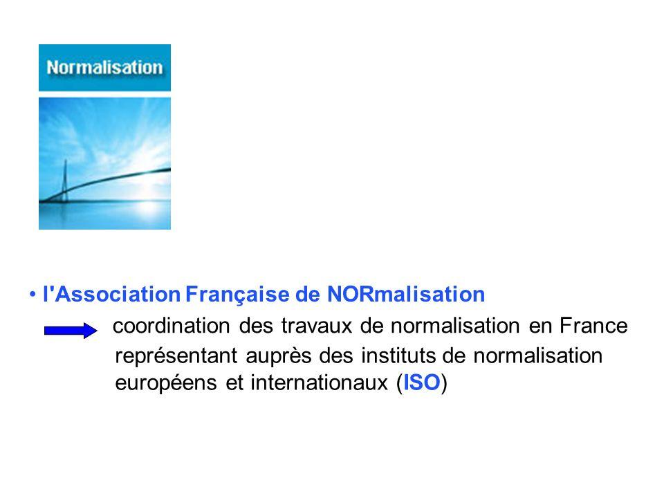 l Association Française de NORmalisation
