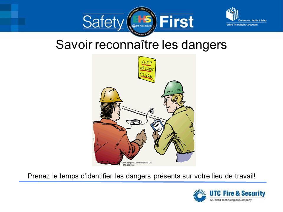 Savoir reconnaître les dangers