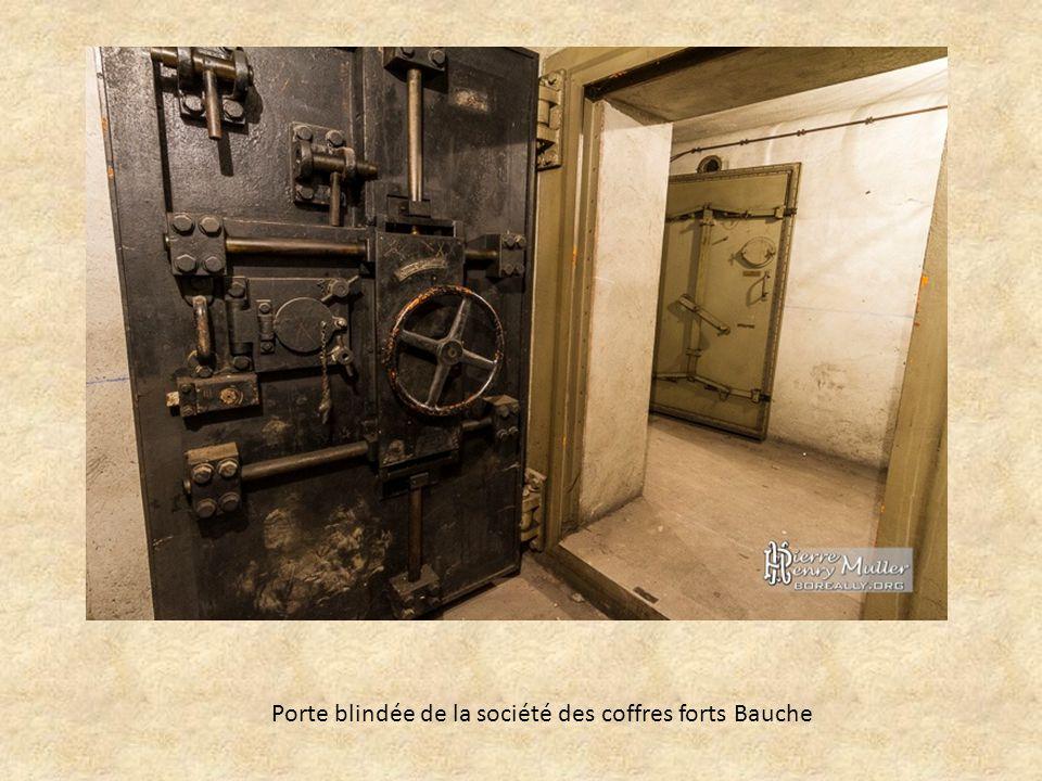 Porte blindée de la société des coffres forts Bauche