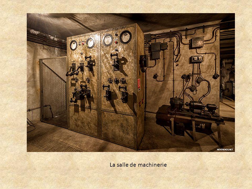 La salle de machinerie