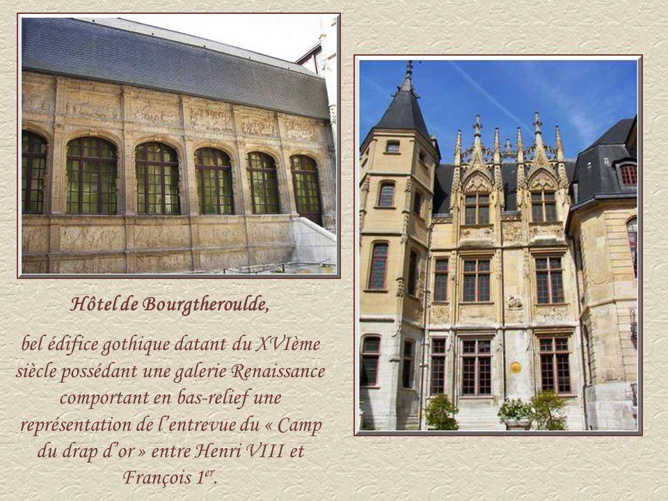 Hôtel de Bourgtheroulde,