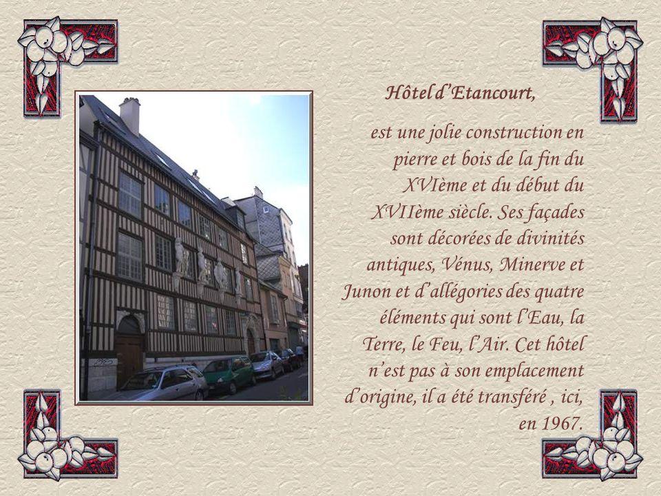 Hôtel d'Etancourt,