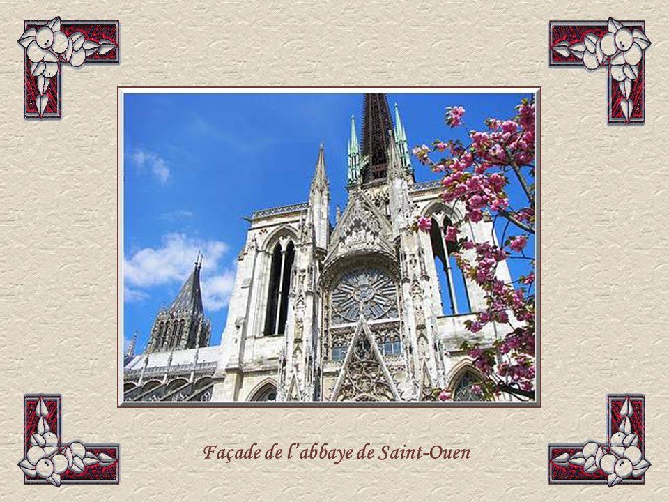 Façade de l'abbaye de Saint-Ouen