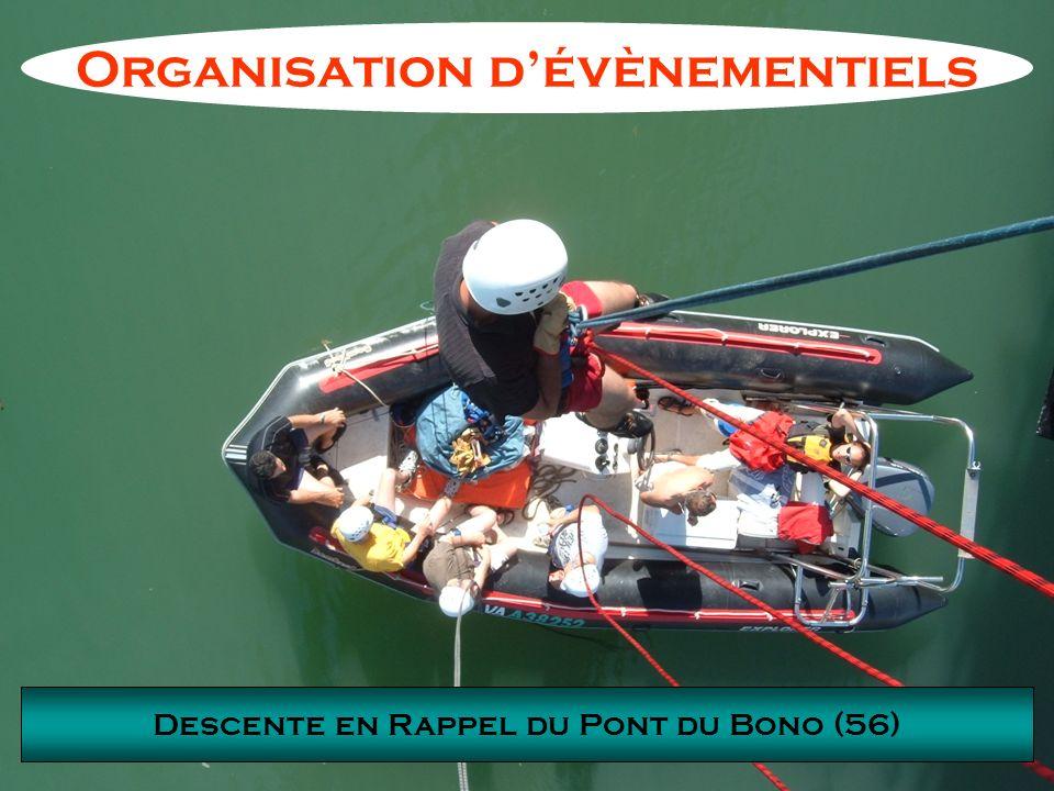 Organisation d'évènementiels