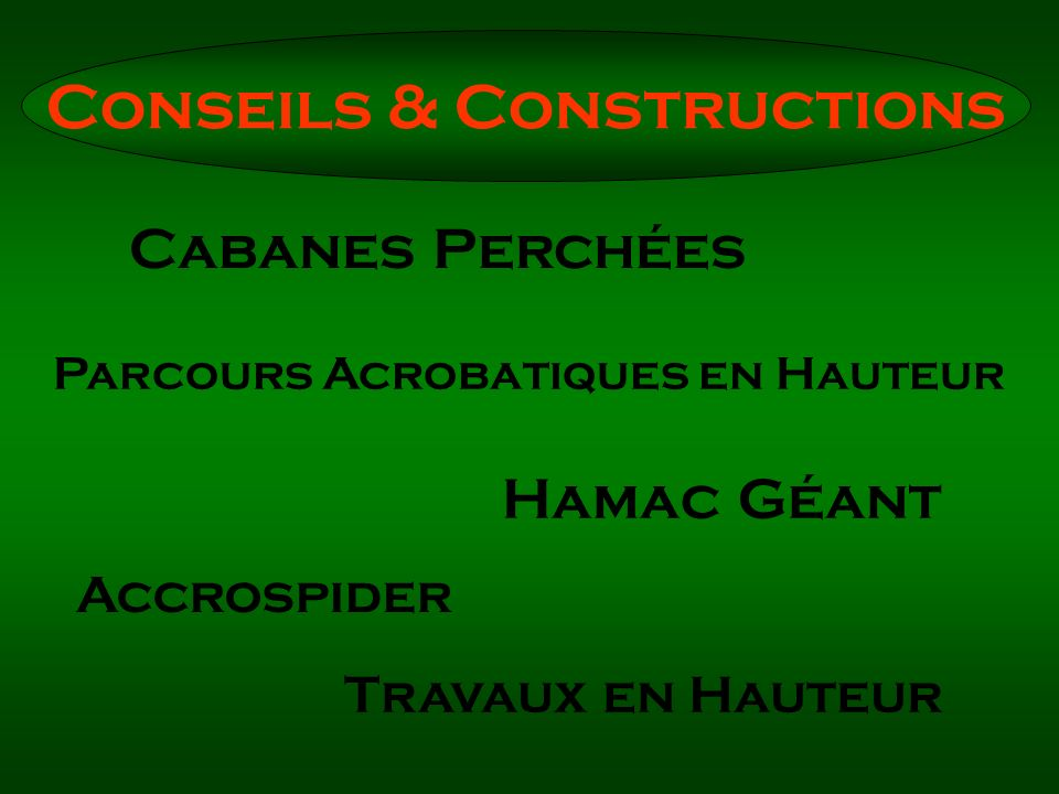 Conseils & Constructions