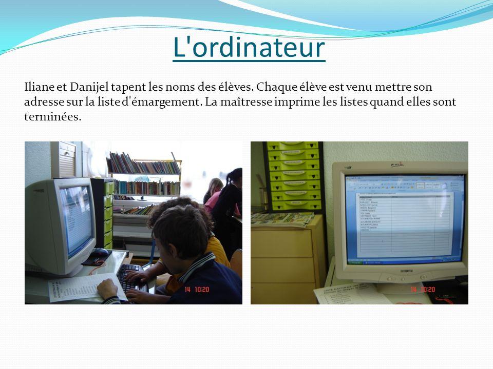 L ordinateur