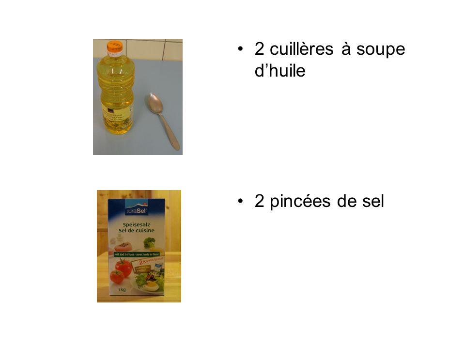 2 cuillères à soupe d'huile