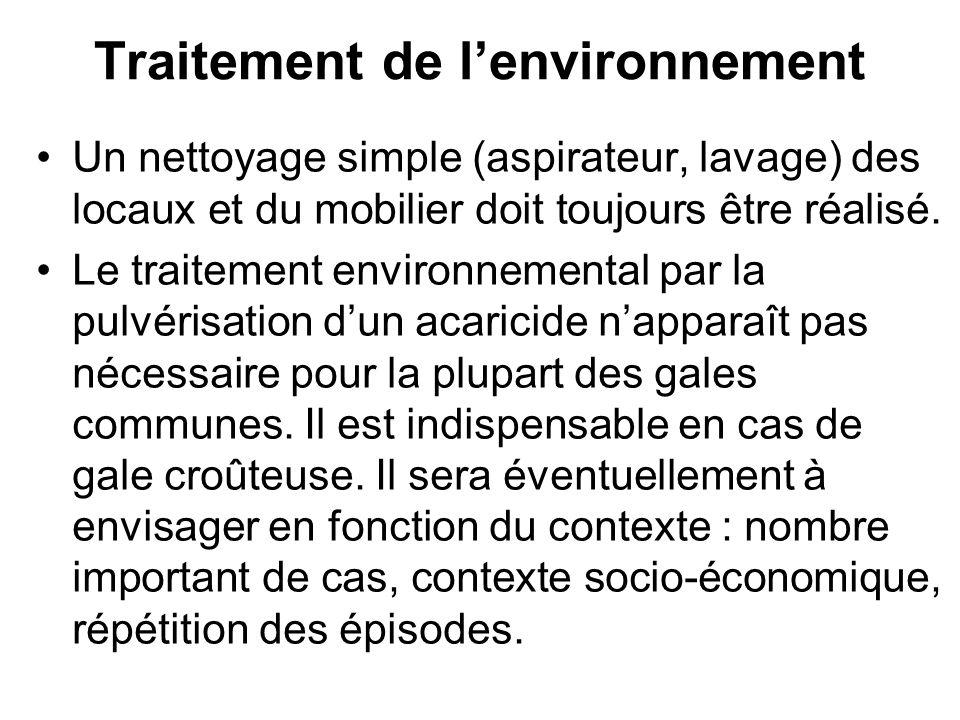 Traitement de l'environnement
