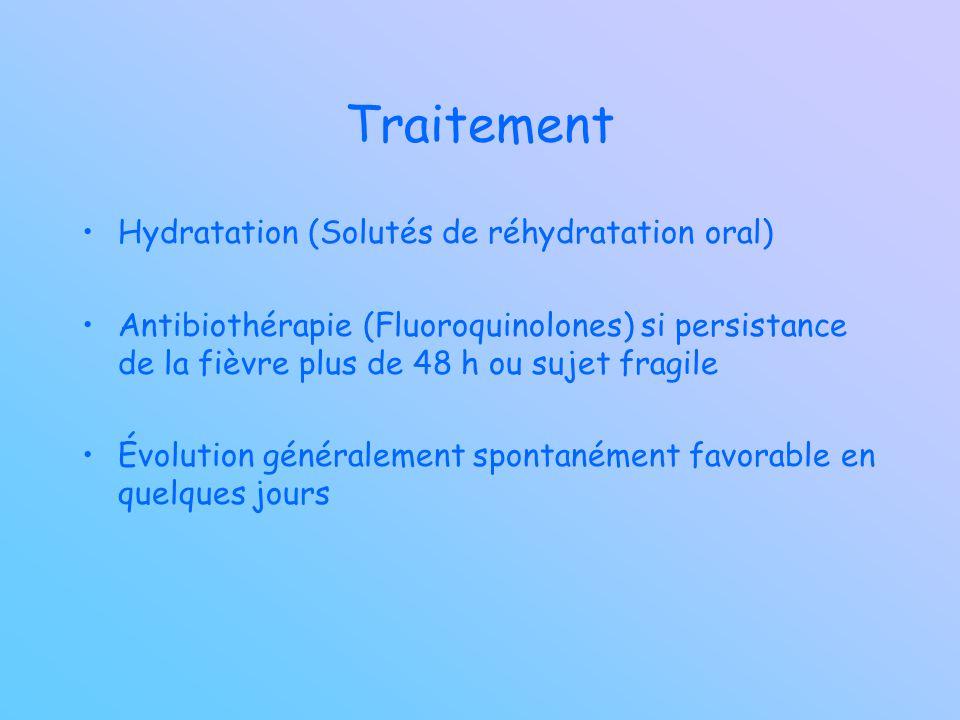Traitement Hydratation (Solutés de réhydratation oral)