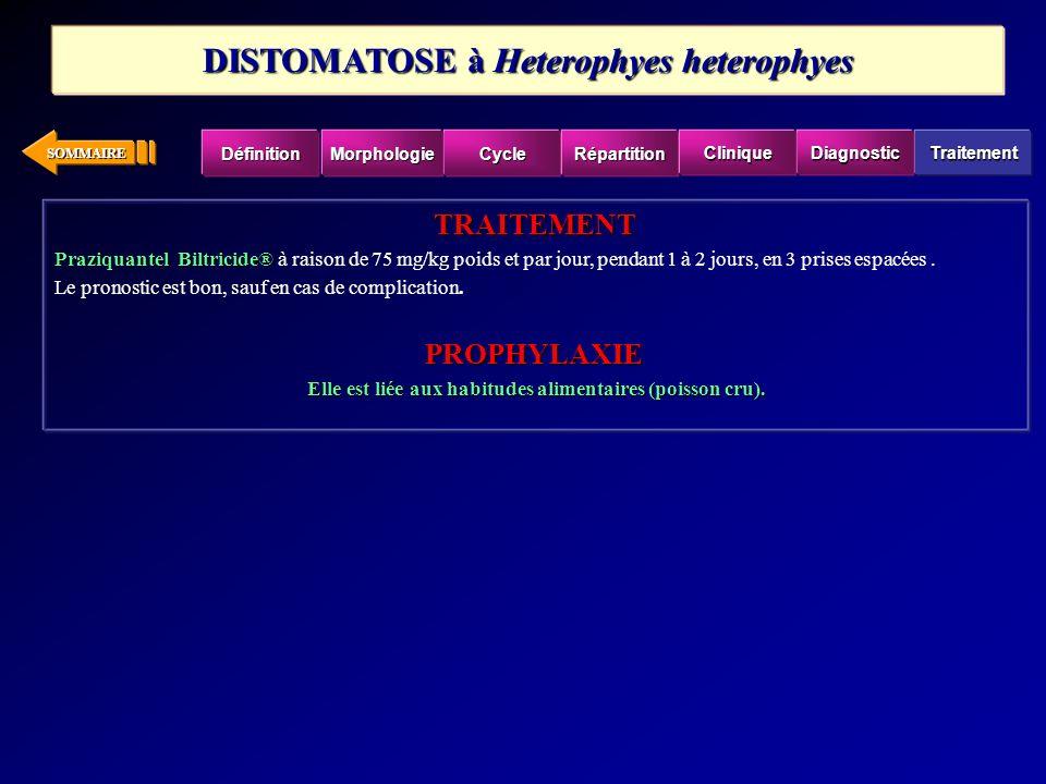 DISTOMATOSE à Heterophyes heterophyes