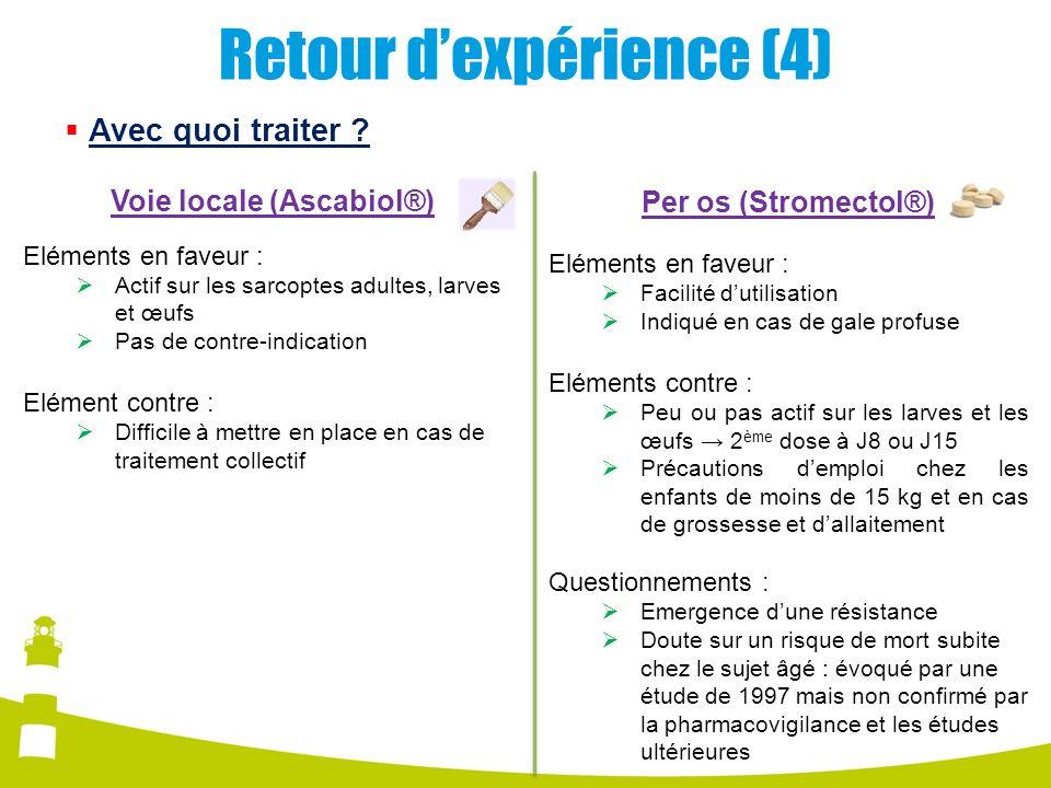 Retour d'expérience (4)