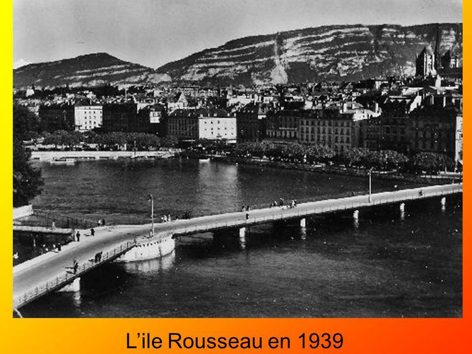 L'ile Rousseau en 1939