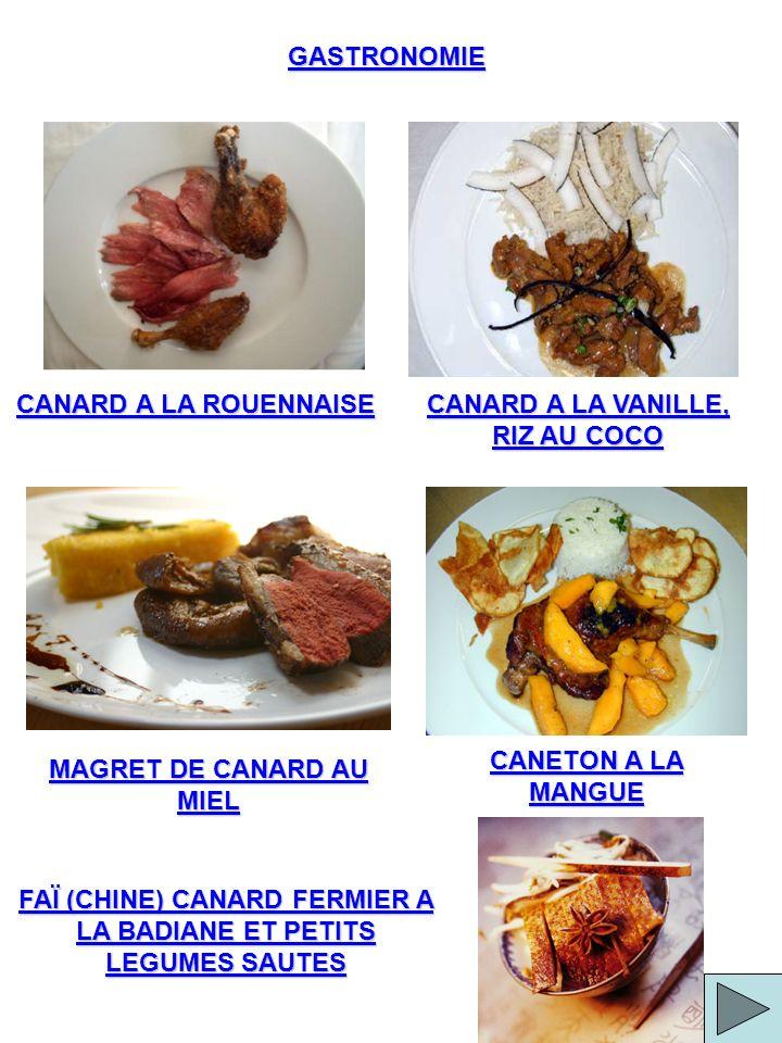 CANARD A LA VANILLE, RIZ AU COCO