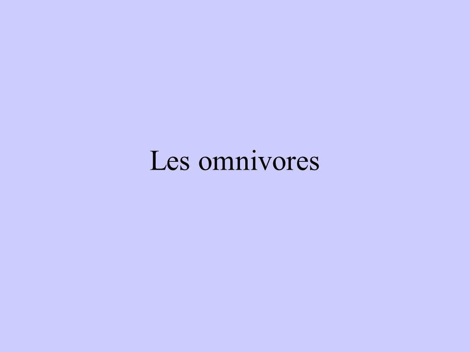 Les omnivores