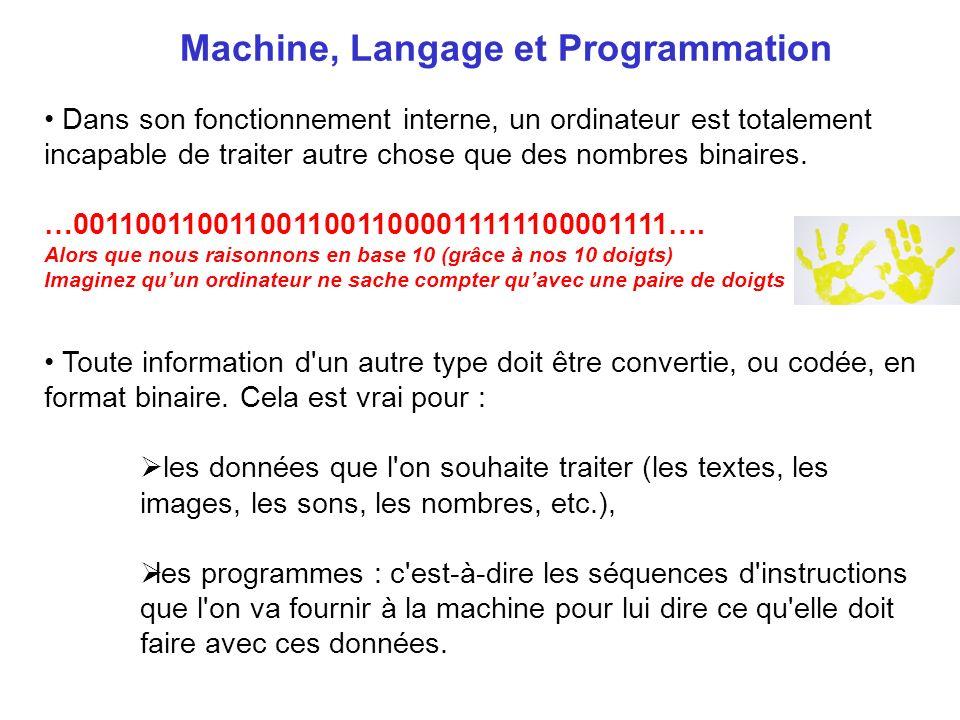Machine, Langage et Programmation