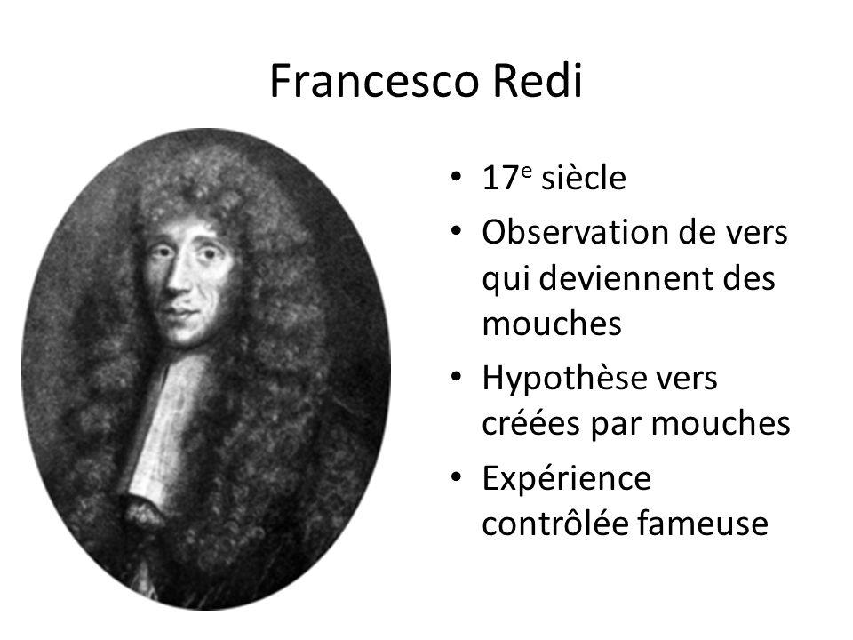 Francesco Redi 17e siècle