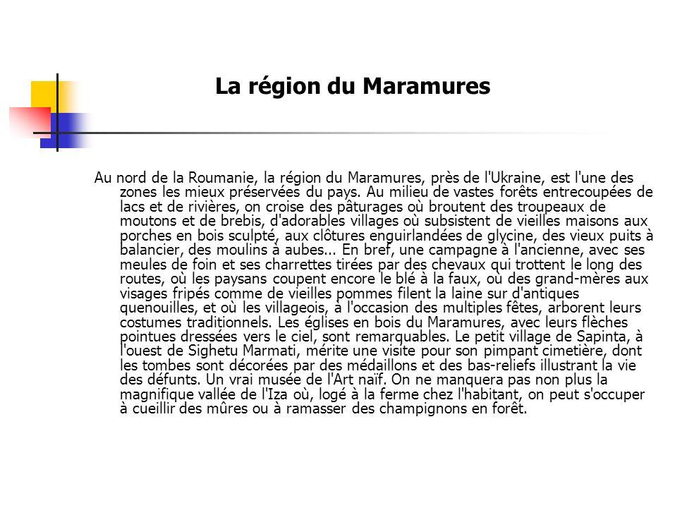 La région du Maramures