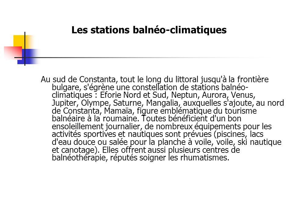 Les stations balnéo-climatiques