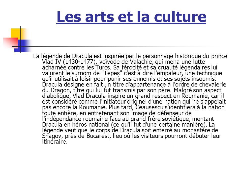 Les arts et la culture
