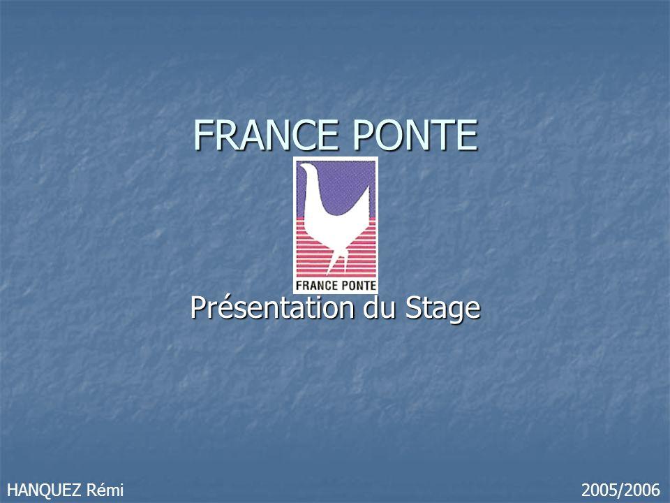 FRANCE PONTE Présentation du Stage HANQUEZ Rémi 2005/2006