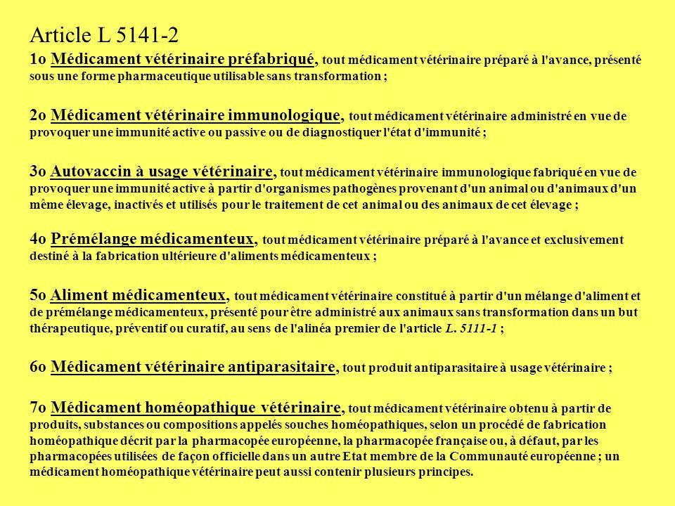 Article L 5141-2