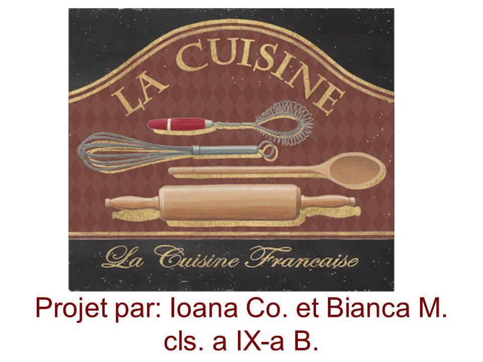 Projet par: Ioana Co. et Bianca M. cls. a IX-a B.