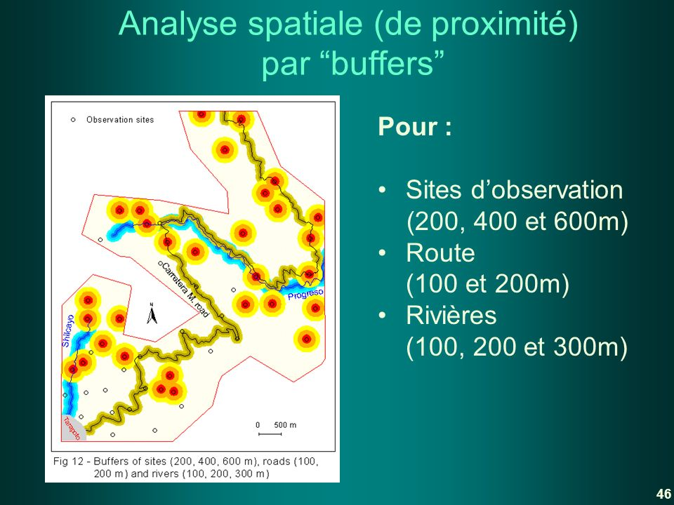 Analyse spatiale (de proximité) par buffers