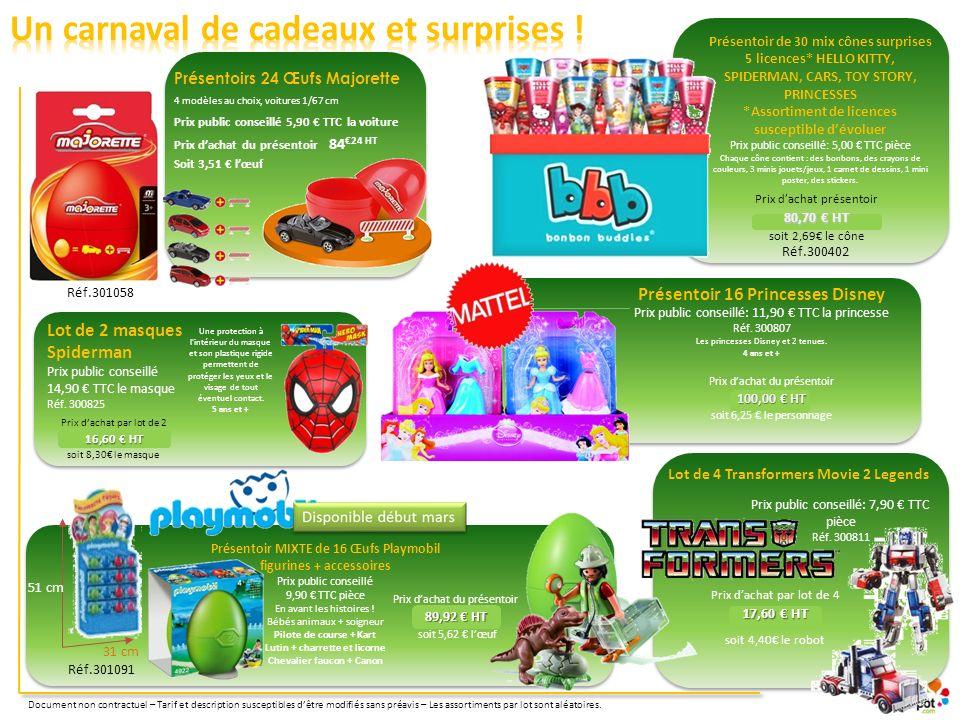 Un carnaval de cadeaux et surprises !