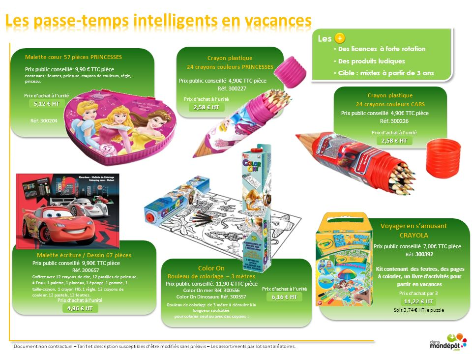 Les passe-temps intelligents en vacances