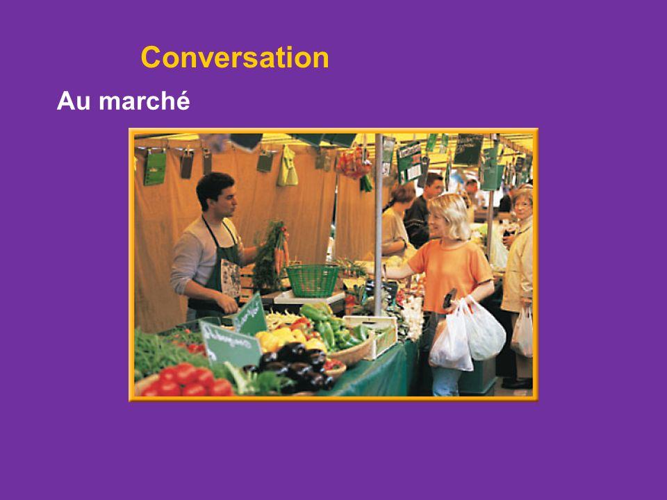 Conversation Au marché