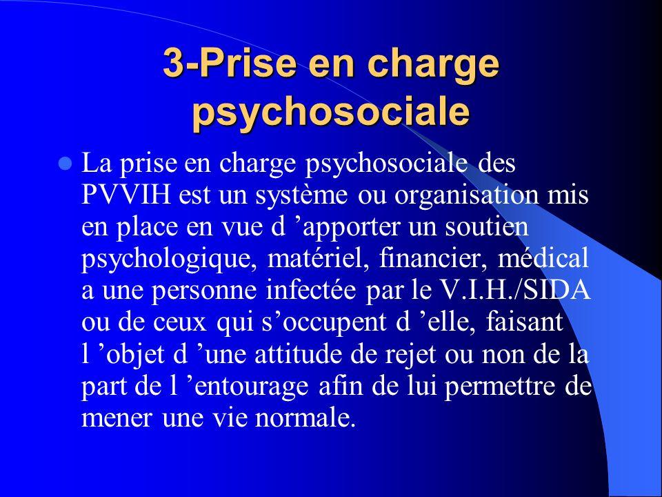 3-Prise en charge psychosociale