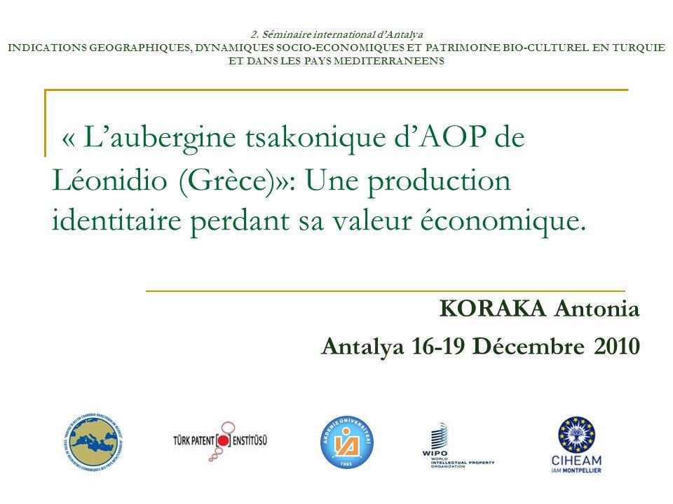 KORAKA Antonia Antalya 16-19 Décembre 2010
