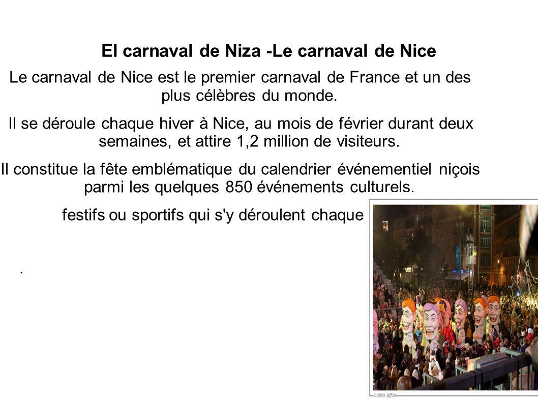 El carnaval de Niza -Le carnaval de Nice