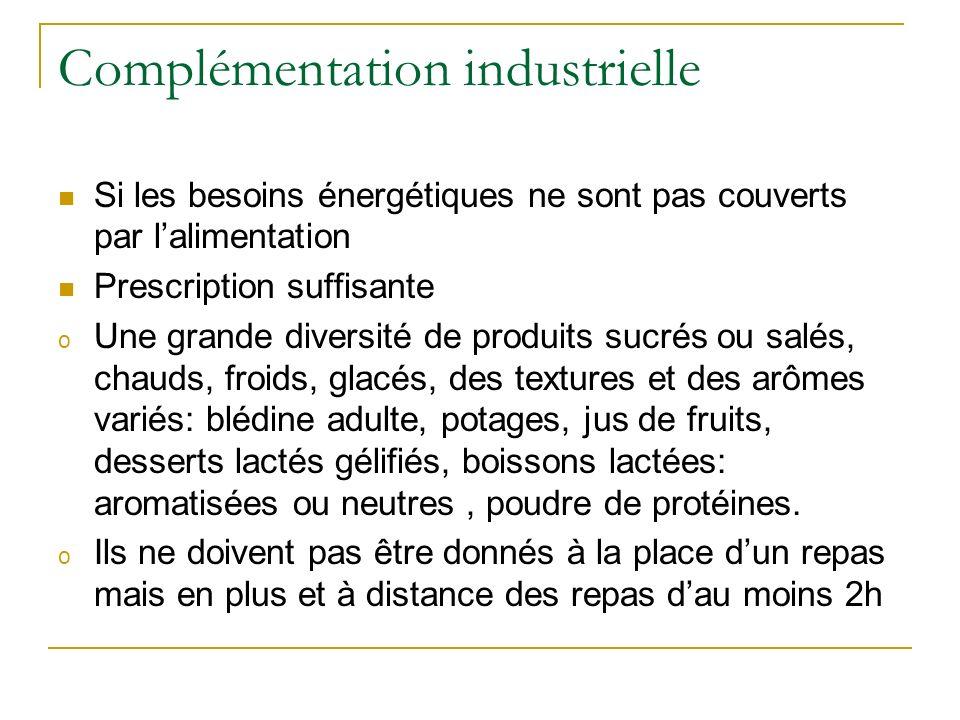Complémentation industrielle