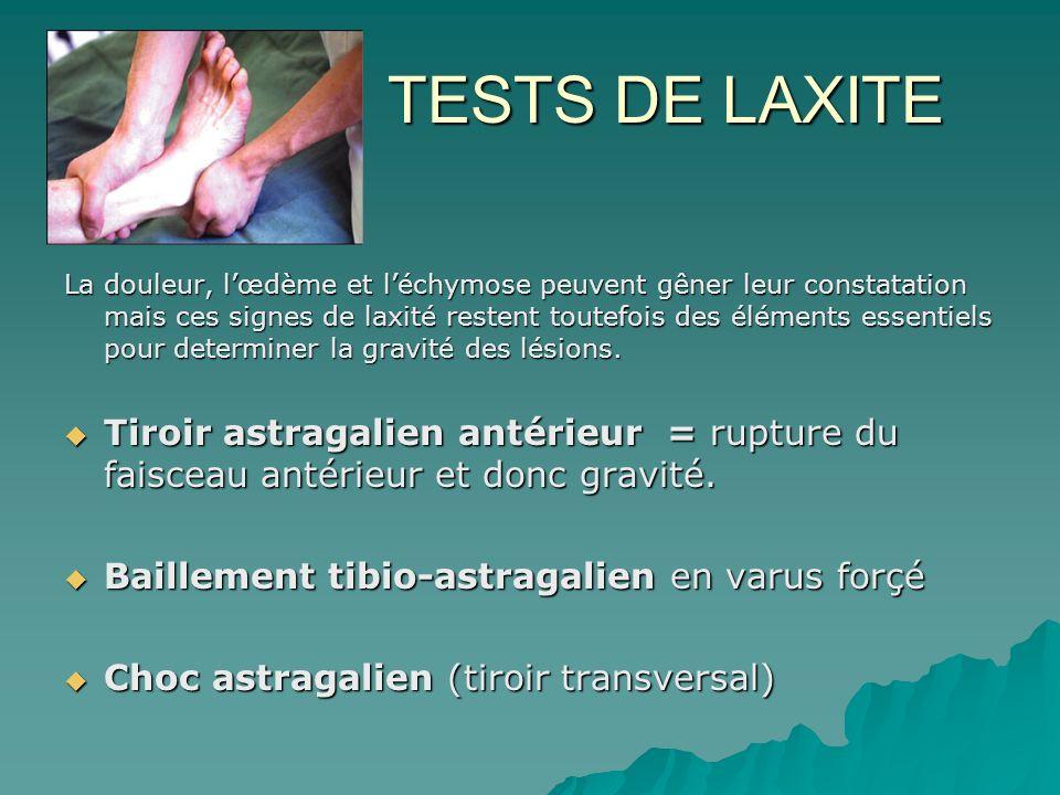 TESTS DE LAXITE