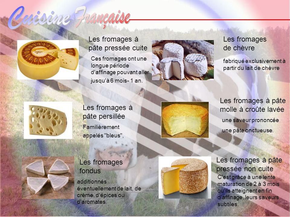 Les fromages à pâte pressée cuite Les fromages de chèvre