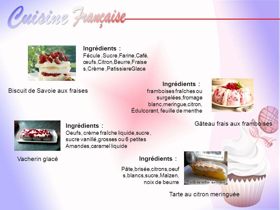 Biscuit de Savoie aux fraises