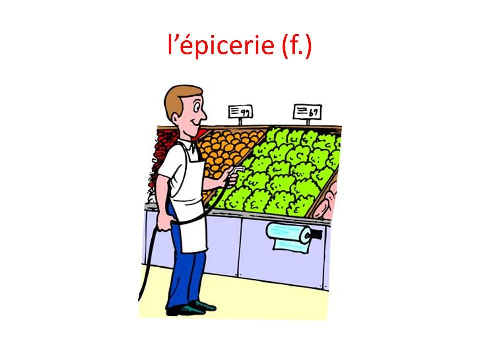 l'épicerie (f.)