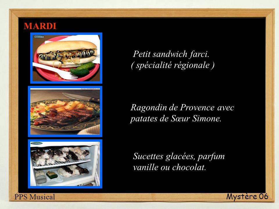 Petit sandwich farci. ( spécialité régionale )