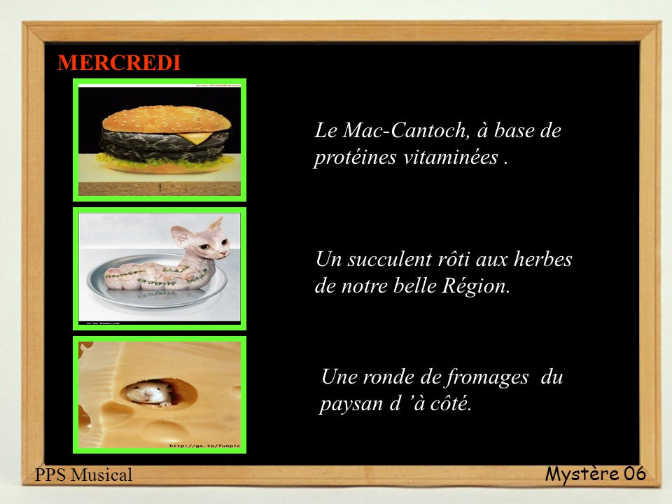 Le Mac-Cantoch, à base de protéines vitaminées .