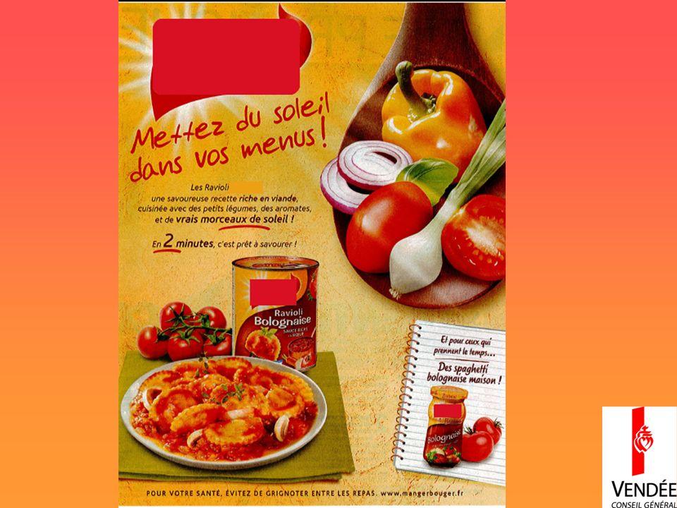 Mise en avant des légumes mais peu présent dans le produit.